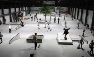 Indoor skatepark pier 15 | Foto: Wijnand Nijs