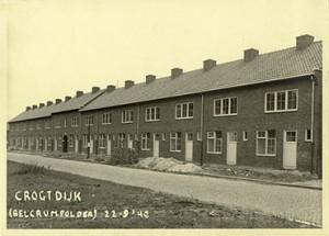 Nieuwbouw woningen in de Belcrumpolder, westelijke gedeelte | Foto: collectie Stadsarchief Breda