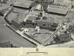 August Lachappelle`s parketfabrieken | Foto: collectie Stadsarchief Breda
