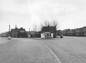 Terheijdenseweg (l) - Oude Terheijdenseweg (r)   Foto: collectie Stadsarchief Breda
