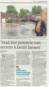 Potentie terrein Klavers Jansen